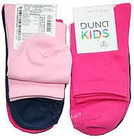 Носки подростковые для девочек, р. 20-22, однотонные, розовые/синие/малиновые, 3шт., Дюна