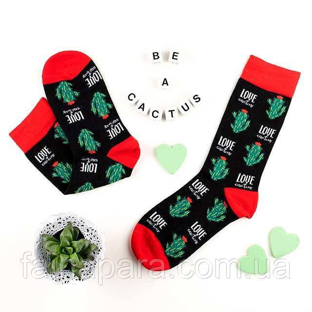 Новогодние женские носки кактус Aura Via
