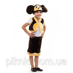 Костюм Чебурашки для мальчика 3,4,5,6 лет. Детский новогодний карнавальный маскарадный костюм, фото 2