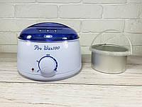 Воскоплав баночный Pro-wax 100 для воска в банке, в таблетках, в гранулах с чашей 400 мл, фото 1