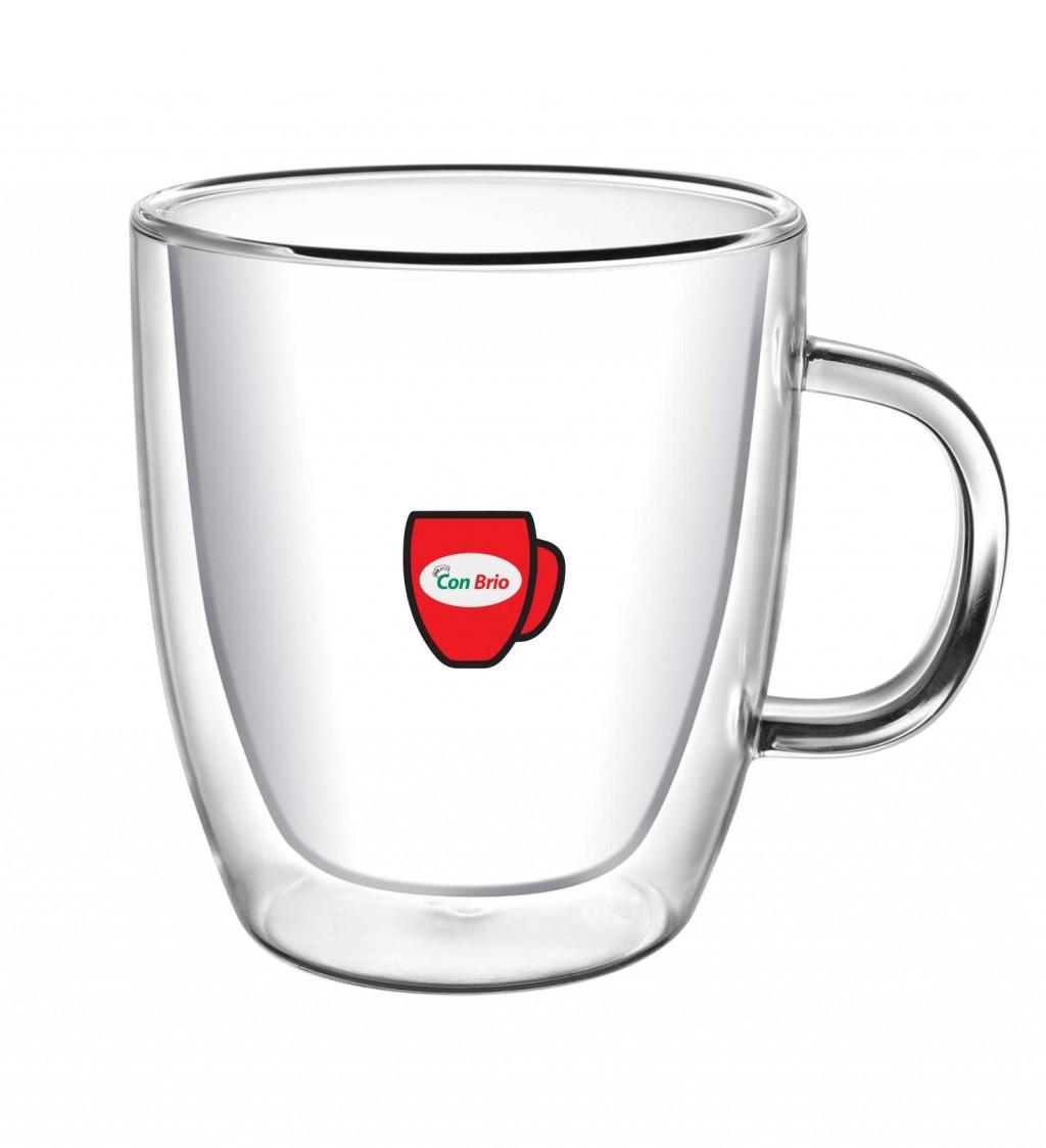 Чашка с двойными стенками Con Brio CB-8435 (350мл)