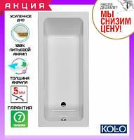 Прямоугольная ванна 160x70 см Kolo Modo XWP1160000