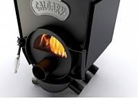 Печь варочная с конфоркой и стеклом тип-00 ЧК.C CALGARY LUX до 130 м.куб