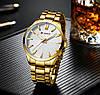 Мужские часы Curren 8322 (gold-white), фото 4