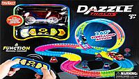 Дитяча Гнучка Чарівна Дорога Dazzle Tracks 187 Деталей з Пультом Управління, фото 1