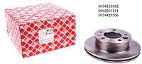 Тормозной диск передний (276х22мм) VW LT 28-46 / MB Sprinter 208-416 1995-2006FEBI (Германия) 07517