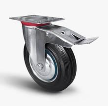 Колеса с поворотным кронштейном и тормозным механизмом