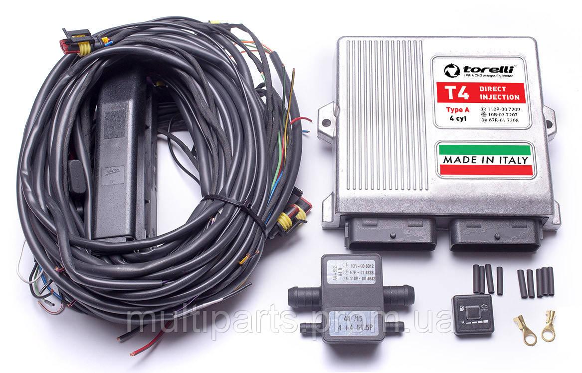 Электроника Torelli T4 Autronic direct injection на 4 цилиндра