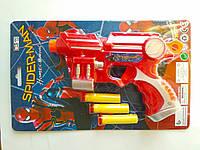 Пистолет с присосками Spider man, фото 1
