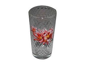 """Набор стаканов высоких 200 мл Лилия упаковка 6 шт """"ОСЗ"""""""