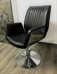 Стильне Перукарське крісло для салону краси барбершоп Infinity. !