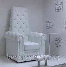"""Крісло для педикюру """"Трон""""Королева"""