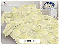 Сатин 220 см 120 г/м2 (рулон 60 м) 20-0849 olive