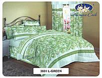 Сатин 220 см 120 г/м2 (рулон 60 м) 3601 L-green