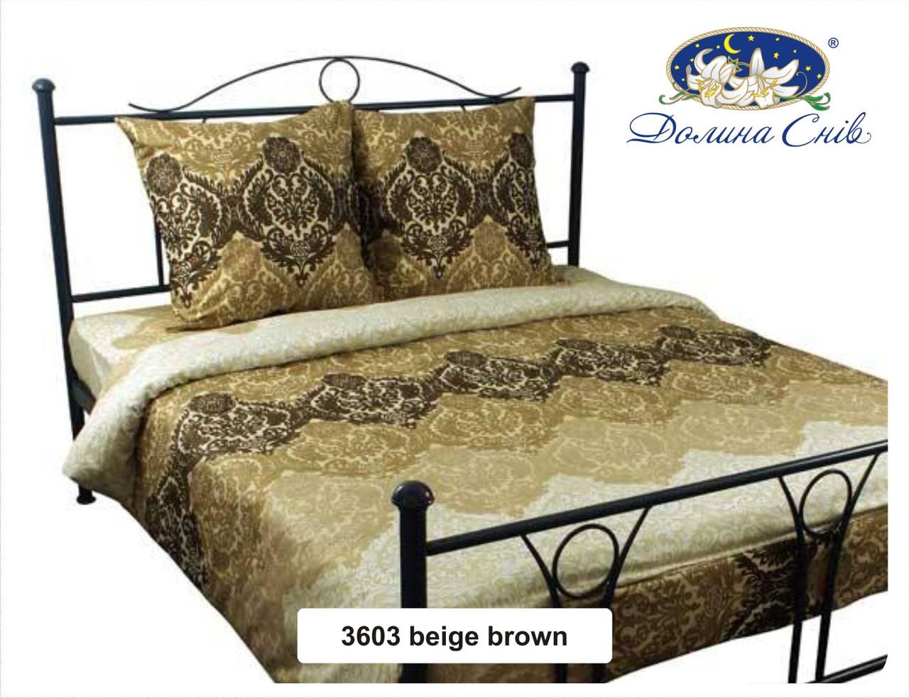 Сатин 220 см 120 г/м2 (рулон 60 м) 3603 beige brown
