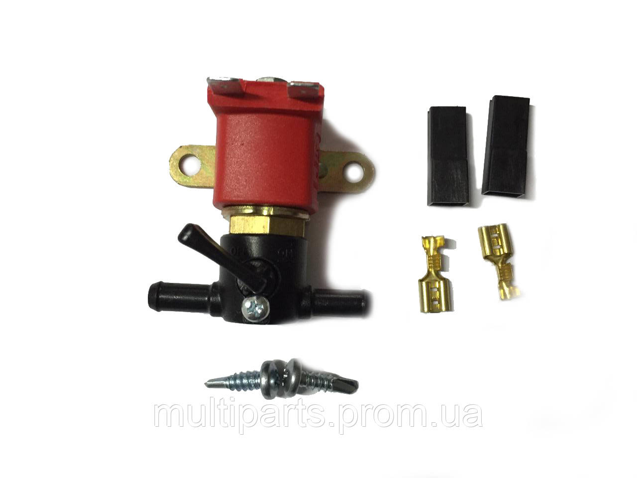 Электромагнитный клапан бензина Atiker (штуцер пластик)