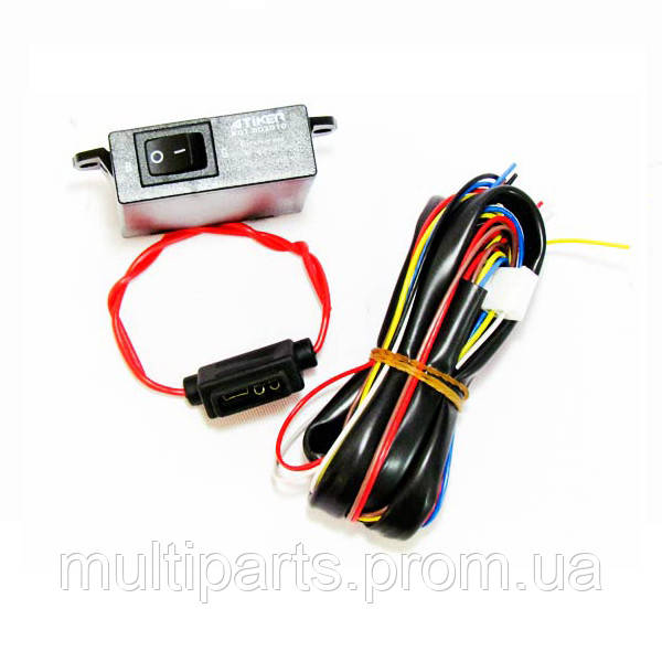 Кнопка переключения Atiker для инжектора с указателем уровня (без датчика)