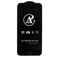 Матовое защитное стекло AG Matte Full Glue для Apple iPhone 7 Plus / iPhone 8 Plus Черный