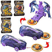 Машинка фиолетовая дикие скричеры Найт Байт Screechers Wild BD1015 прыжок на 360 (4 цвета) ЦЕНА ЗА 1 ШТ