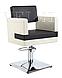 Парикмахерские кресла для клиентов салона красоты кресла на гидравлике Berlin, фото 3