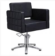 Парикмахерское кресло для клиента салона красоты Dioni Парикмахерские кресла квадратные на гидравлике