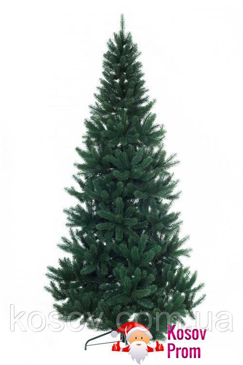 """Искусственная литая елка """"Премиум"""" 2.1м (зеленая)"""