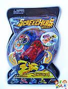 Машинка красная дикие скричеры Рева Дактиль Screechers Wild BD1015 прыжок на 360 (4 цвета) ЦЕНА ЗА 1 ШТ