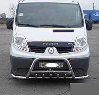 Кенгурятник Renault Trafic (Передняя дуга Рено Трафик) с усом