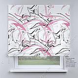 Римская штора Абстракция. Бесплатная доставка. Инд.размер. Гарантия. Арт. 15-05-14, фото 2