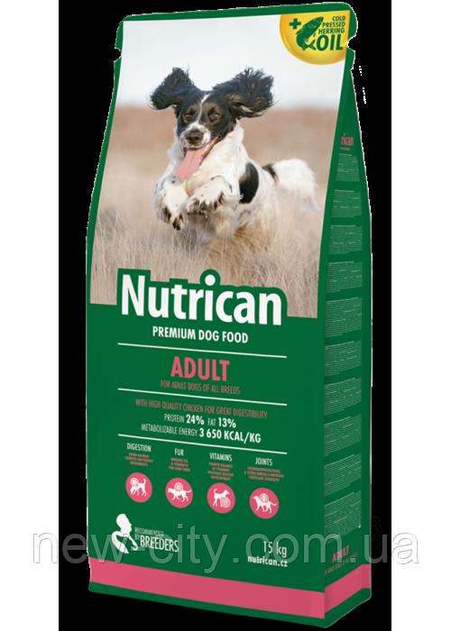 Nutrican Adult (Нутрикан) сухой корм для взрослых собак всех пород (курица) 3кг