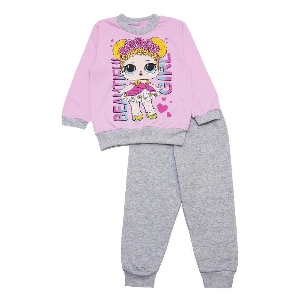 Пижама для девочки с начесом Лол