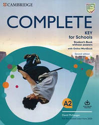 Complete Key for Schools Second Edition Student's Book without Answers with Online Workbook