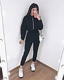 Комбинезон женский тёплый чёрный, серый, 42-44, 44-46, фото 8
