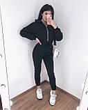 Комбинезон женский тёплый чёрный, серый, 42-44, 44-46, фото 9