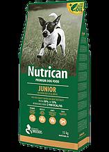 Nutrican Junior (Нутрикан) сухой корм для щенков всех пород (курица) 15кг