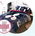 Теплое постельное белье Homytex Фланель