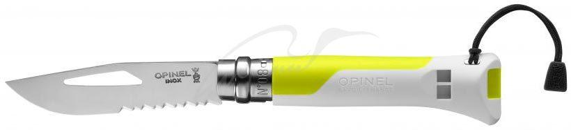 Ніж Opinel Outdoor Fluo Yellow No.08 002320