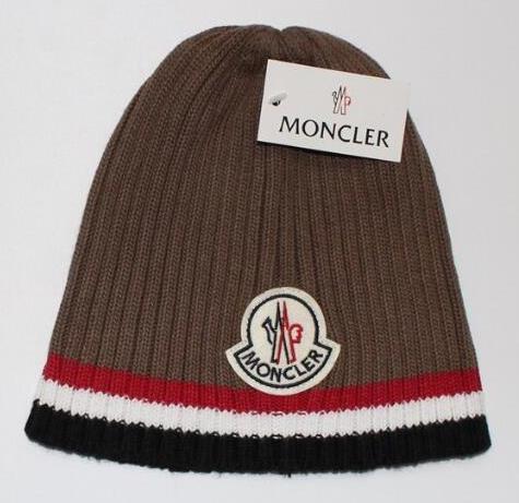 Шапка в стиле Moncler для взрослых и подростков шапки монклер унисекс