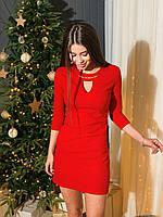 Платье женское нарядное марсала, красный, темно синий, электрик, фото 1