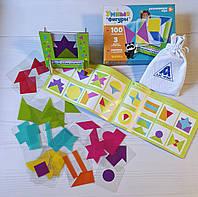Развивающая игра на логику «Умные фигуры», 30 карточек, инструкция и подставка