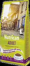 Nutrican Adult Cat корм для взрослых котов с мясом курицы и утки 10кг