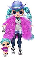 Оригинал. L.O.L. Surprise OMG Winter Disco Космик Кукла и сестричка Cosmic Nova