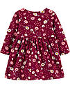 """Платье на длинный рукав для девочки Carter's """"Бордо"""", фото 2"""