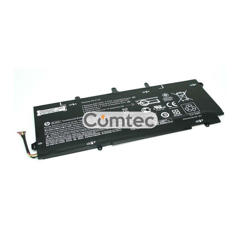 ОРИГИНАЛЬНЫЙ! Аккумулятор для ноутбука HP BL06XL Elitebook 1040 G1 11.1V черный 3700 mAh 42Wh