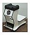 Підставка для ніг для педикюру пересувний візок педикюрная підставка (без витяжки для манікюру) Арія Т28, фото 3