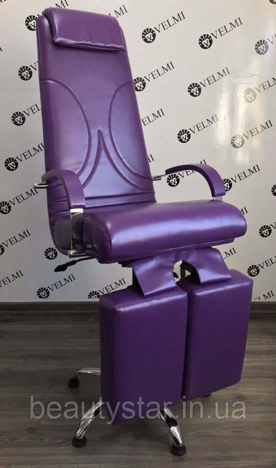 Педикюрне крісло з регульованими ніжками Aramis Lux