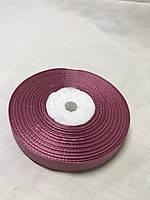 Лента атласная,ширина 1 см (33 м ) цвет Грязно Розовый