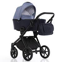 Детская универсальная коляска 2 в 1 Invictus V-Dream Navy Blue