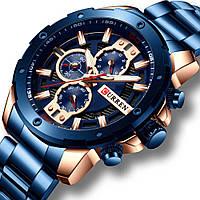 Мужские часы Curren 8336 (blue)