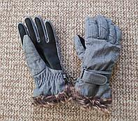 ZIENER KIM lady glove женские перчатки горнолыжные ОРИГИНАЛ (6.5) Сост.ИДЕАЛ